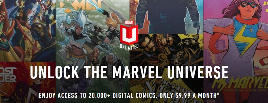 Off Marvel Unlimited Promo Code